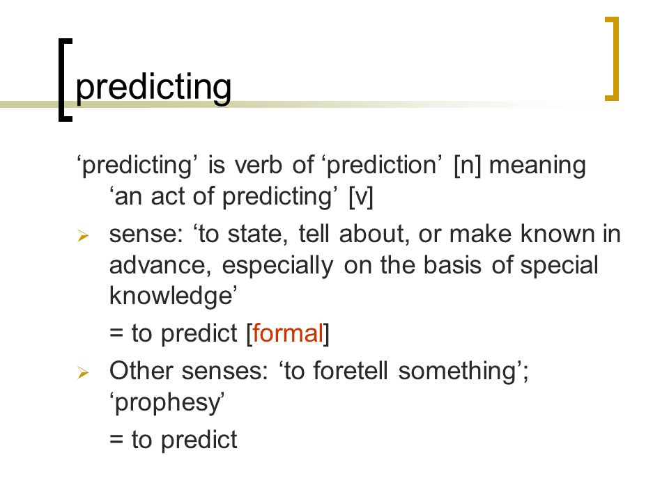 Prediction Meaning In Hindi Predictive Solutions